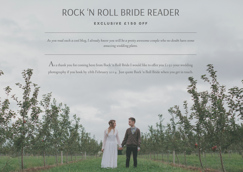 Millie Benbow Photography | Azz + Hannah Rock n Roll Bride Exclusive-1